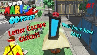 NEW WAY TO GLITCH THE JUMP ROPE?! | Super Mario Odyssey #1