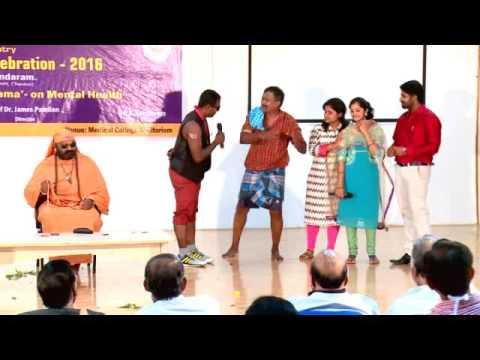 Mental Health day 2016 SRM Medical college tamil skit