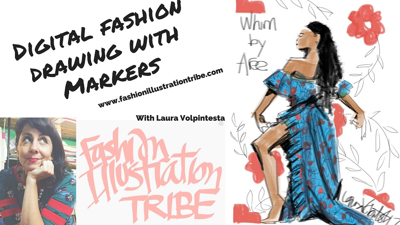 Fashion sketch apps recommendations and examples, plus tutorials