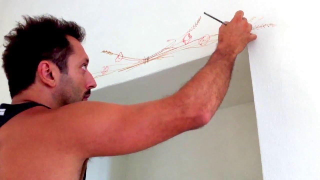 Lezioni di pittura - Bozzetto mano libera - How to paint with ...