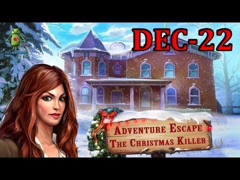 Adventure Escape Christmas Killer (Xmas Killer) Dec 22 Walkthrough - (iOS / Android)