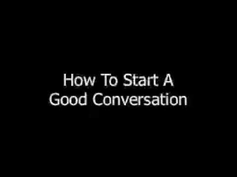 how to start communication when meeting with a girl