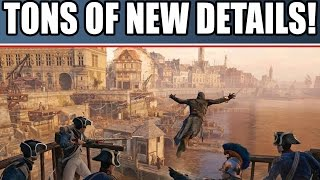 Assassin's Creed Unity New Gameplay Details! HUGE Crowds! Parkour & Combat. Dark Souls Influence.