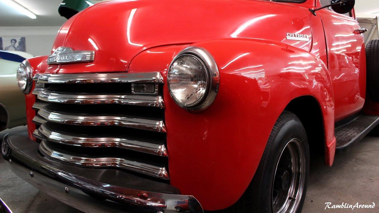 1951 Chevrolet 3100 - 235 Straight Six Dual Carbs & Split Manifolds