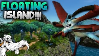 """Subnautica Gameplay - """"THE FLOATING ISLAND!!!"""" - Let's Play Walkthrough"""