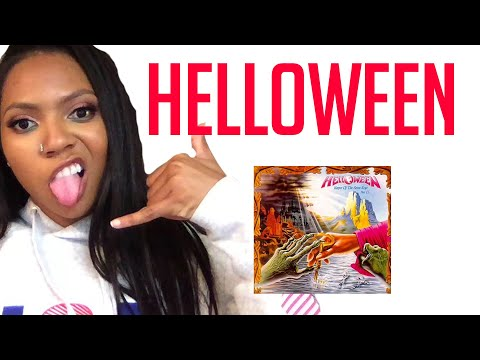 FIRST TIME LISTENING TO HELLOWEEN-Keeper Of The Seven Keys REACTION