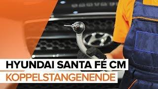 Wie Axialgelenk Spurstange HYUNDAI SANTA FÉ II (CM) wechseln - Online-Video kostenlos