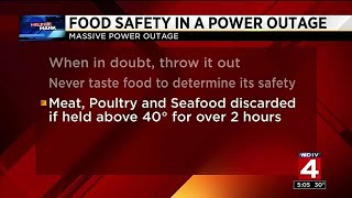 Help Me Hank: Food safety in a power outage