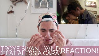 WILD - TROYE SIVAN (feat. ALESSIA CARA) | REACTION | MTV VMA