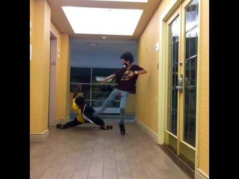 Shmateo - King imprint dancing to Michael Jackson Billie jean