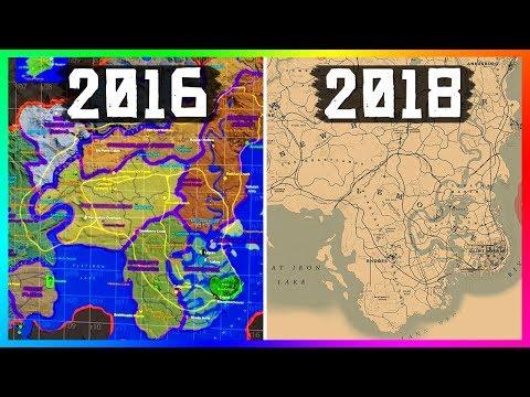 Rdr2 Map Comparison Zui Zui Clip