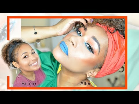 Quick Tropical Makeover and YouTube introduction