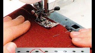 видео Машинные иглы и нитки для шитья одежды
