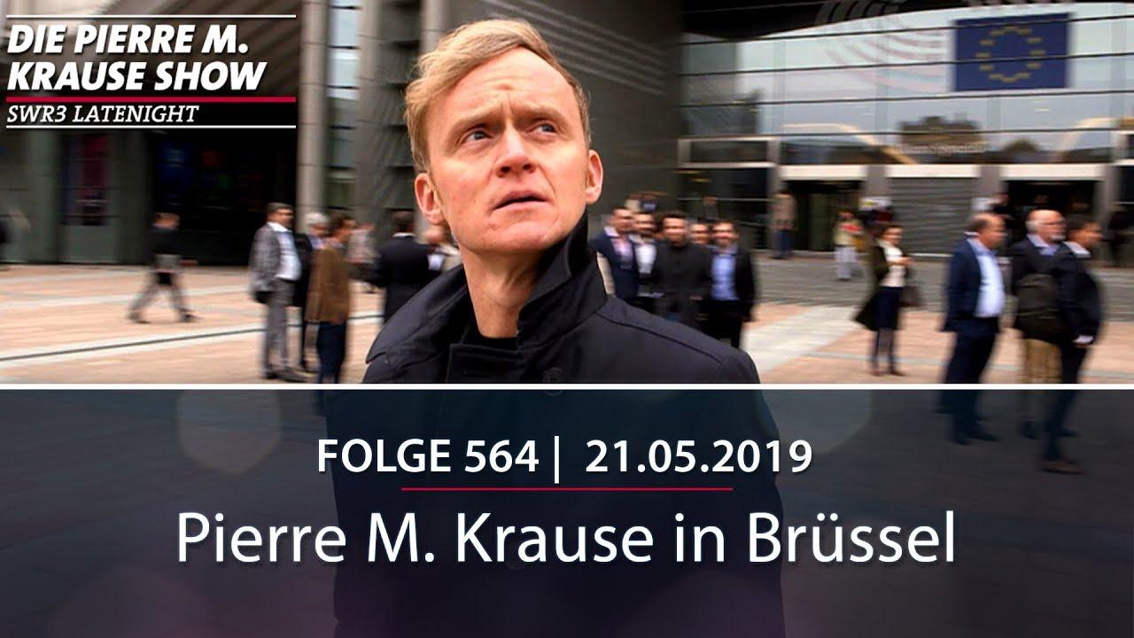 Europawahl 2019 - Pierre M. Krause in Brüssel