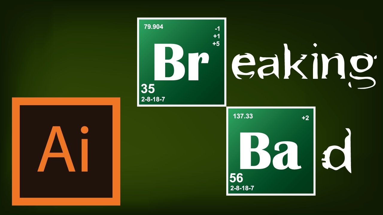 Breaking Bad Logo Tutorial Breaking Bad ...
