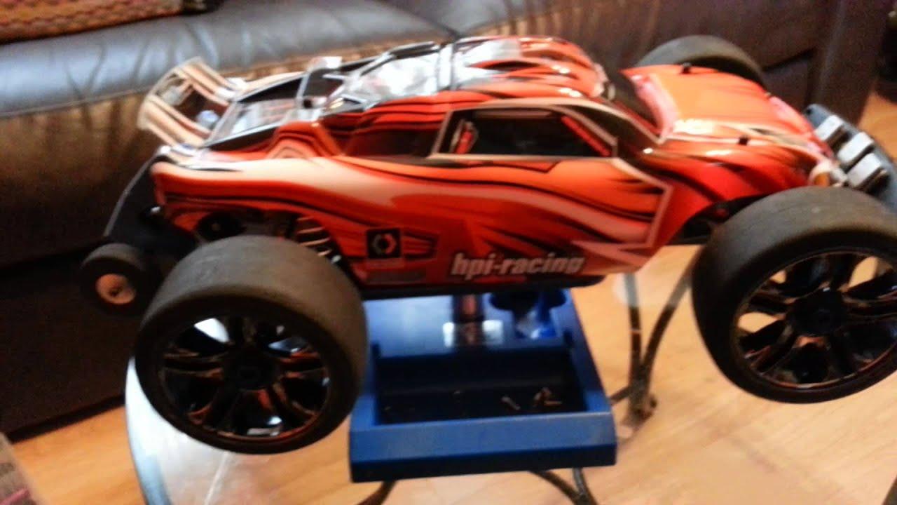 Tbone rear bumper hpi rustler