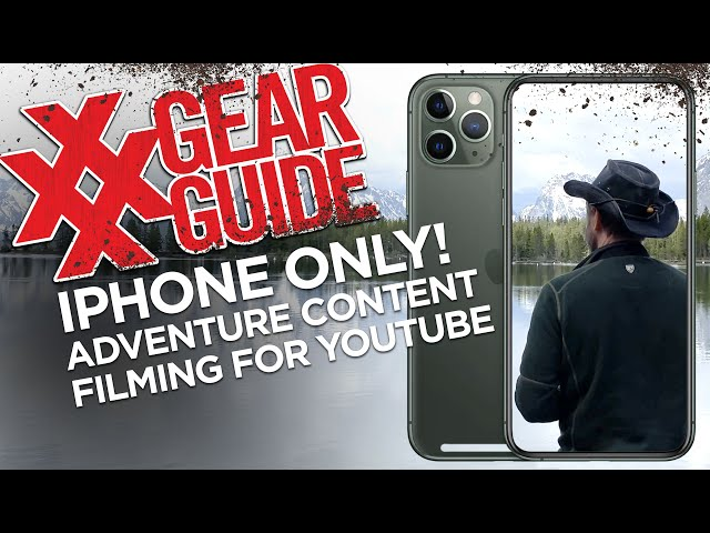 How to Make IPhone Adventure Videos for YouTube #iphone