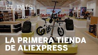 ALIEXPRESS abre su primera TIENDA FÍSICA en MADRID