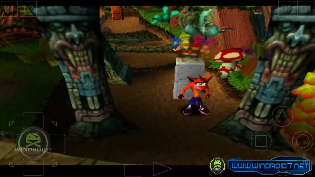Descarga Crash Bandicoot de PS1 [Apk] Para Android [Sin Emulador]  #Smartphone #Android