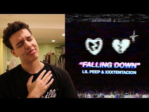 Lil Peep & XXXTENTACION- Falling Down REACTION