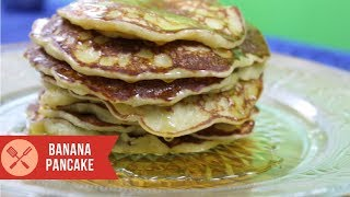 Tasty and healthy homemade Best Banana Pancake recipe made with egg