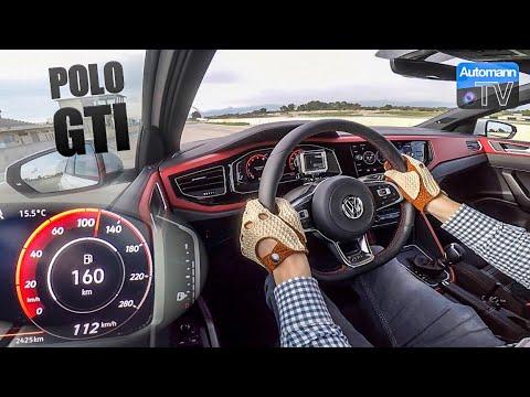2018 VW Polo GTI (200hp) - 0-100 km/h LAUNCH CONTROL (60FPS)