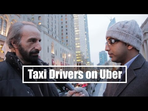 Heartbreaking Video: Taxi Drivers On UberX In Toronto.