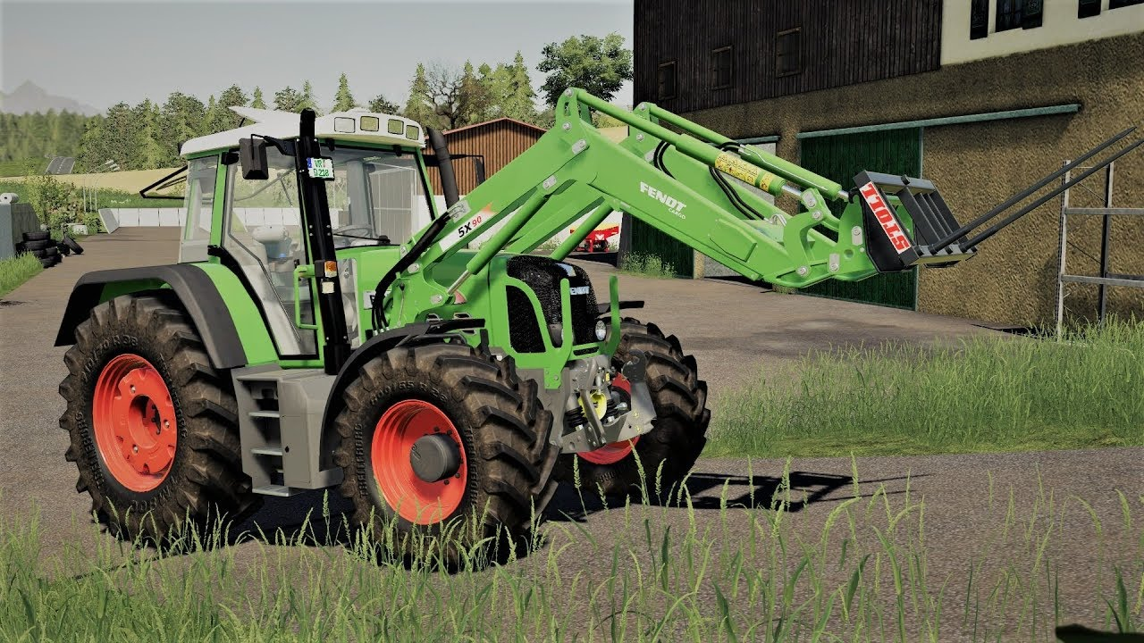 Tractor Fendt 800 Vario TMS v1 2 0 1 for FS19