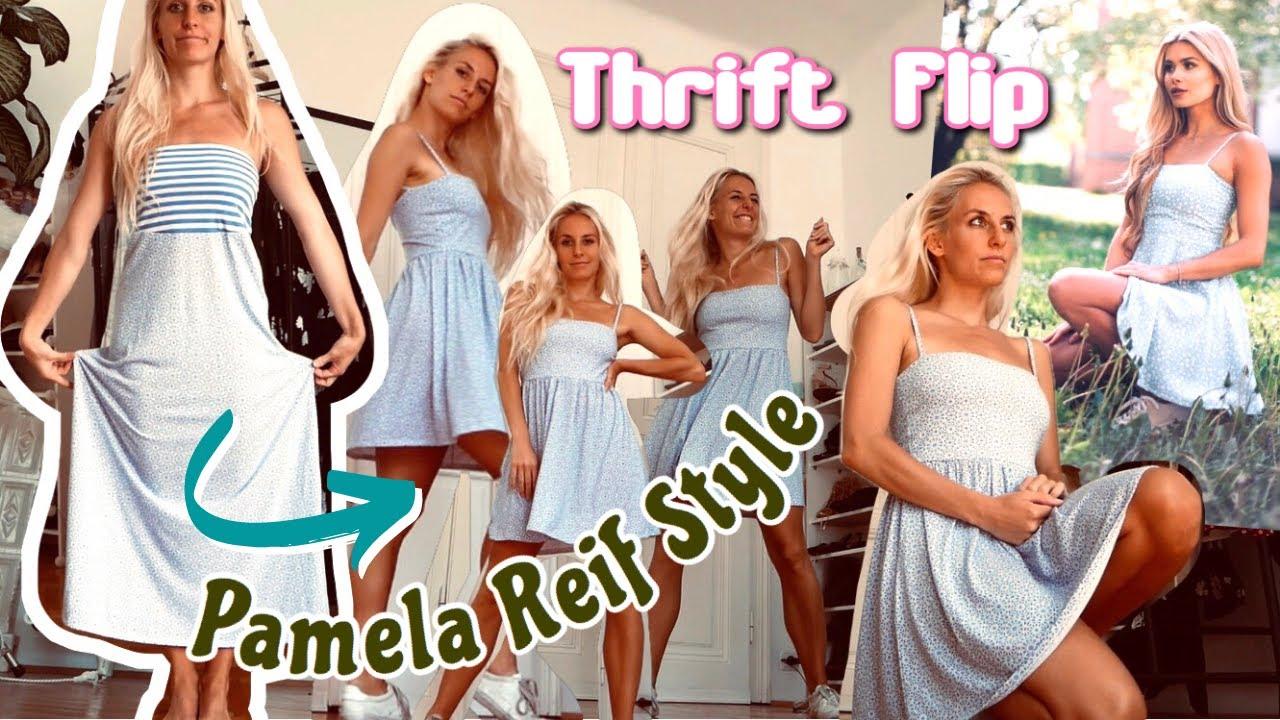 super schneller THRIFT FLIP!✂️ Skaterdress Pamela Reif x NA-KD Reborn Style