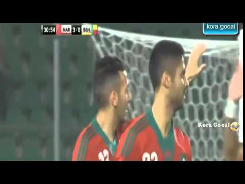 Maroc VS Benin 6-1 All goals BeiN Sports 13/11/2014