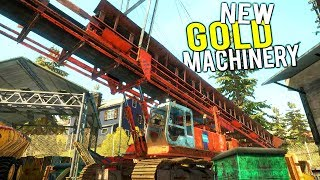 NEW GOLD MINING MACHINERY! GIANT UPDATE + New Drill and Season 2! - Gold Rush Full Release Gameplay