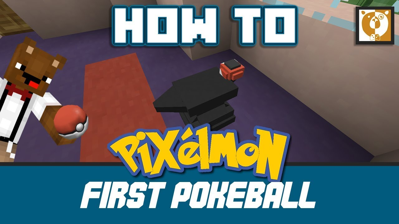How to make a Pokéball - Pixelmon Generations - Minecraft 1 10 2 - Bear  Games How To
