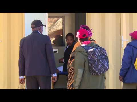 TIMS OPENING OF OCCUPATIONAL HEALTH SERVICES CENTRE IN LESOTHO BY PRODUCED BY CLIFFORD DERRICK