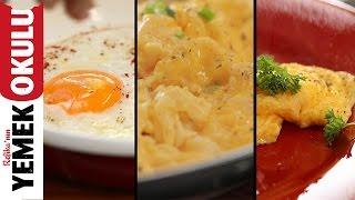 3 Temel Yumurta Tarifi Sahanda Çırpılmış Omlet Kahvaltı Tarifleri