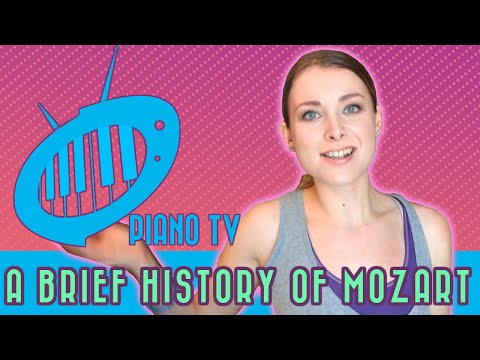A Brief History of Wolfgang Amadeus Mozart