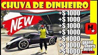 BUG PRA FAZER CAIR CHUVA DE DINHEIRO NO GTA ONLINE (MONEY DROP PS4,XBOX1,PC)