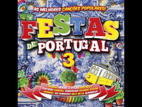 """Festas de Portugal 3 Colectânia Vidisco Ricardo Stefan com o Tema """"Ainda é Cedo Pra Casar"""""""