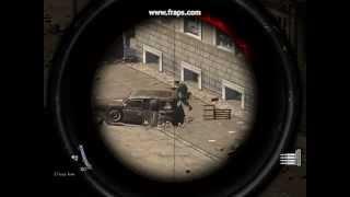Sniper Elite V2 - Insane Xray Kill Cam - Bouncing Bullets