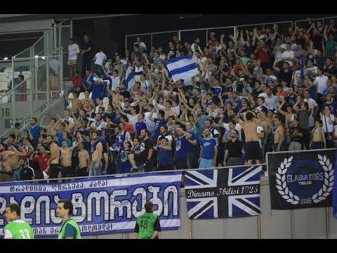 GLADIATORS TBILISI /02.08.2016/ FC DINAMO TBILISI - FC DINAMO ZAGREB/