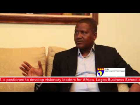 Doing Business in Africa: Dangote Shares Experience at LBS