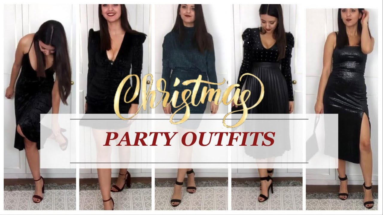 CHRISTMAS PARTY OUTFIT IDEAS  TOPSHOP, H&M, PRIMARK, NEW LOOK  Simply Kyri