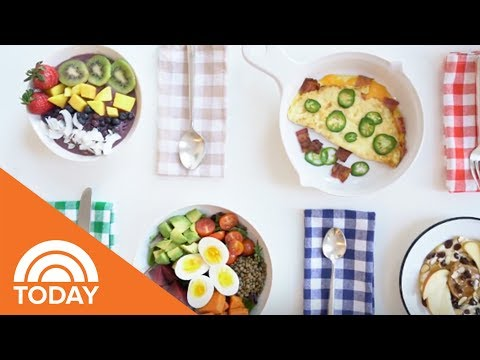 See The Amazing Things Olympic Athletes Eat For Breakfast | TODAY