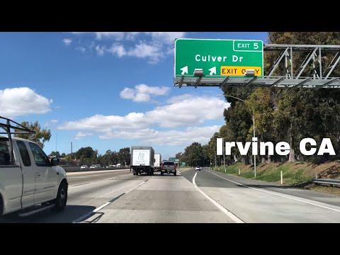 🔴  Irvine Realtor Driving Tour 4K