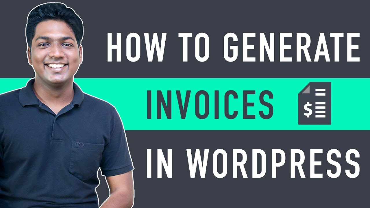 How to Generate Invoices on your E Commerce Website