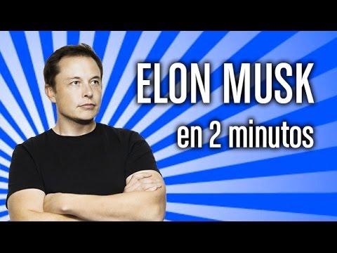 Biografía de Elon Musk: la vida de un genio en dos minutos
