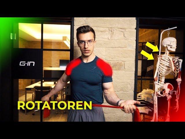 Wie du 90% aller Schulterverletzungen vermeidest | Rotatorentraining | Tim Gabel