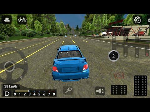 Manual Transmission Subaru WRX STi Car Parking - Free Drive Gameplay