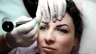 Tatuaj sprancene modificare repigmentare www.machiajtatuaj.ro 0745001236.avi