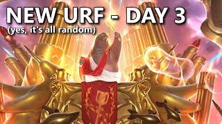 NEW URF day 3. Yes it's ARURF - Na żywo