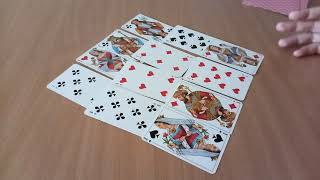 ♣КРЕСТОВЫЙ КОРОЛЬ + ♥ЧЕРВОВАЯ ДАМА и ♦БУБНОВАЯ ДАМА,  ОТНОШЕНИЯ,  онлайн гадание на игральных картах